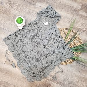 Crocheted Cape/Poncho Style Sweater